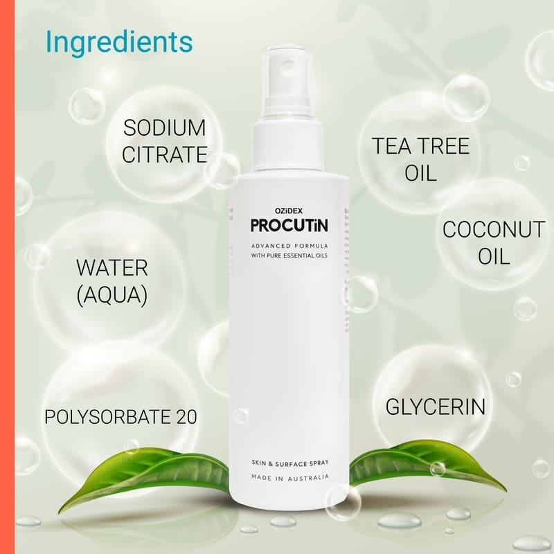 Ingredients | ozidex