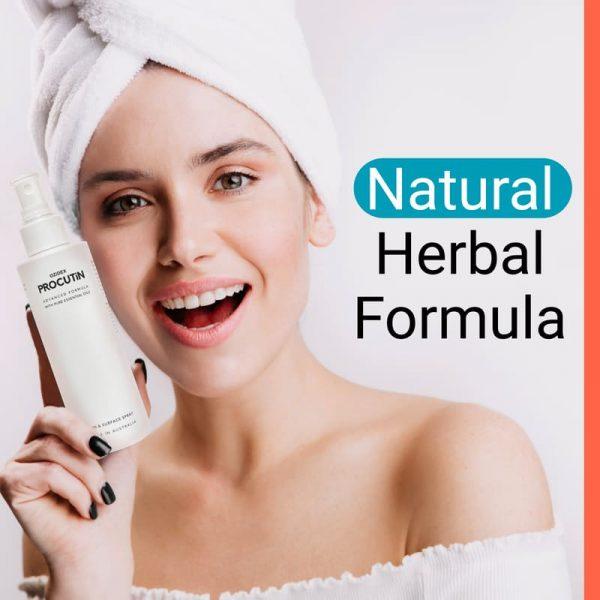 box and bottle natural formula | ozidex