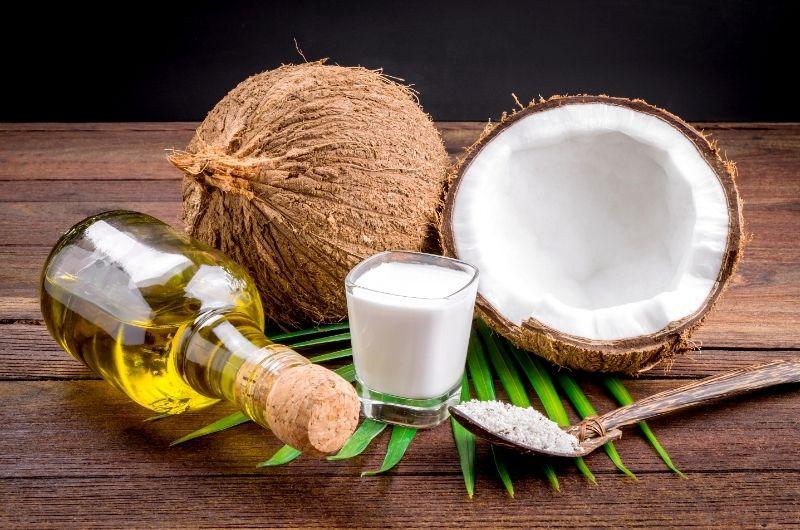 coconut oil against demodex mites