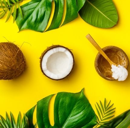 coconut oil against mites